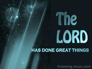 Psalm 126:3 God Of Great Things (black)