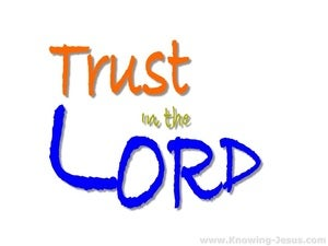 Proverbs 3:5 Trust In The Lord blue