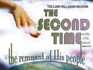 Isaiah 11:11 He Will Gather The Remnant A Second Time (green)