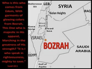 Isaiah 63:1 Who Is This From Bozrah (black)