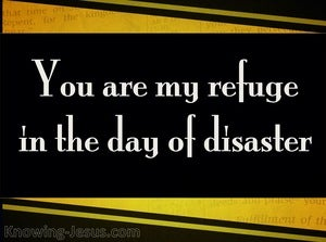 Jeremiah 17:17 You Are My Refuge (yellow)