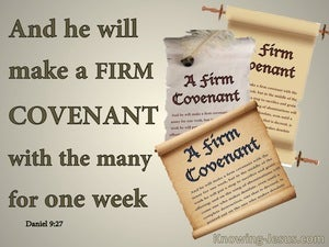 Daniel 9:27  A Firm Covenant (beige)