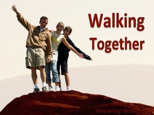 Walking Together (devotional)