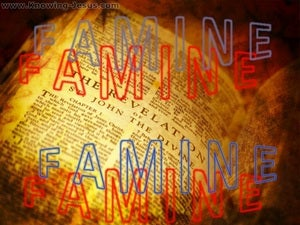 Amos 8:11 Famine For The Word (brown)