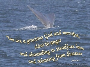 Jonah 4:2 God is Gracious (gray)