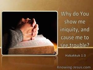 Habakkuk 1:3 Why Do You Show Me Iniquity (windows)10:25