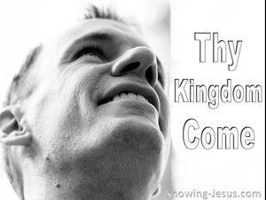Thy Kingdom Come  (devotional) (white) - Matthew 6:10