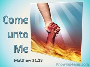Matthew 11:28 Come Unto Me (utmost)06:11