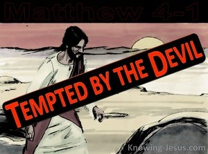 Matthew 4:1 Jesus Was Led By The Spirit Into The Wilderness (black)