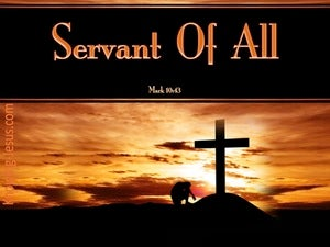 Mark 10:43 Whoever Would Be Great Must Be Servant Of All black