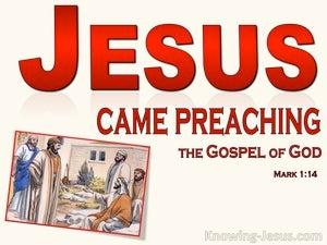 Mark 1:14 John Was Taken Into Custody (red)