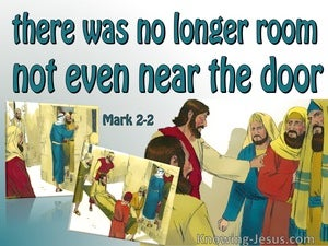 Mark 2:2 There Was No Room (green)
