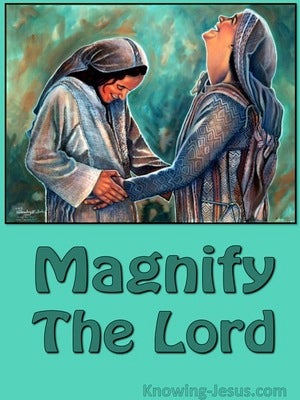 Magnify The Lord devotional