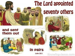 Luke 10:1 He Appointed Seventy Others white