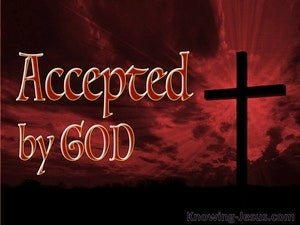 Accepted by God devotional
