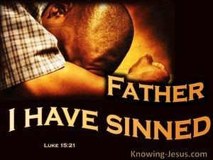 Luke 15:21The Prodigal Son Sinned (orange)