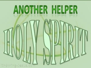 John 14:16 Another Helper (green)
