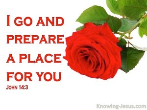 John 14:3 Where I Am Ye May Be Also (red)