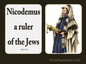 John 3:1 Now There Was A Man Named Nicodemus white