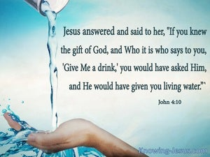 John 4:10 The Gift of God (white)