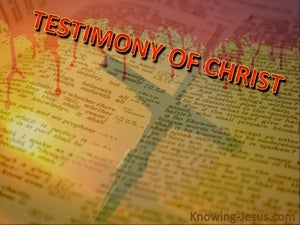 John 5:39 The Scriptures Testify About Me (red)