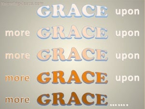 Grace Upon Grace (devotional) (pink) - John 1:16