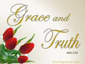 John 1:14 Full Of Grace And Truth (gold)
