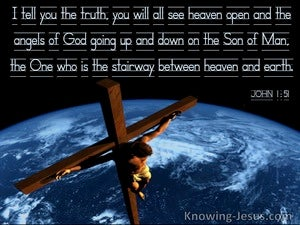 John 1:51 You Will See Heaven Open And The Son Of Man (windows)12:31