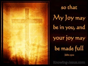 John 15:11 That Your Joy May Be Full (brown)