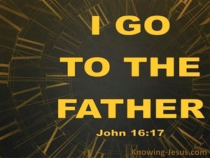 John 16:17 A Little While And You Will Not See Me (gold)