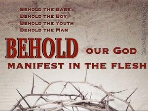 John 19:5 Behold The Man (devotional)09:07 (gray)
