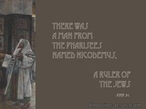 John 3:1 There Was A Man Named Nicodemus (gray)