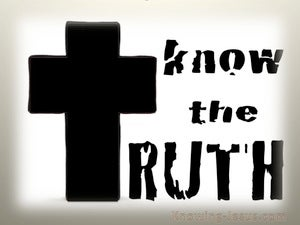 Know The Truth (devotional) (black) - 1 Timothy 2:4