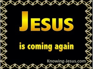 Acts 1:11 Jesus is Coming Again (black)