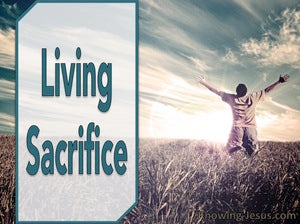Romans 12:1 Living Sacrifice devotional