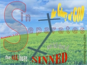 Romans 3:23 For All Have Sinned red