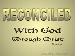 Romans 5:11 We Exalt In God Through Our Lord Jesus Christ gold