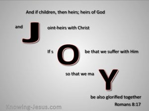 Romans 8:17 Joint Heirs With Christ gray