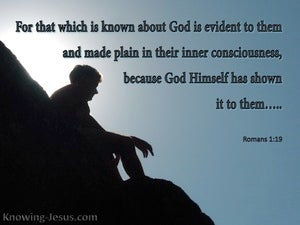Romans 1:19 God Is Manifest In Them (blue)
