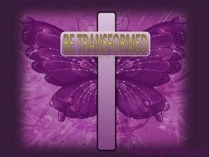 Be Transformed (devotional) (purple) - Romans 12:2