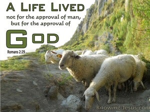 Romans 2:29 A Life Lived For The Approval Of God Not Man (windows)11:09