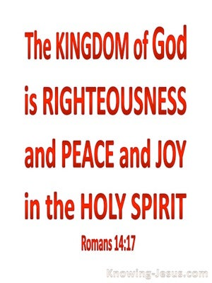 Romans 4:17 Kingdom Of God (red)