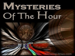 Romans 8:18 Mysteries of the Hour (devotional)