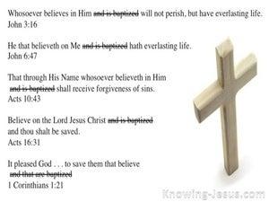 1 Corinthians 1:21 True Baptism (devotional)10:21 (white)
