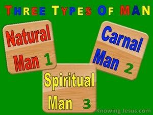 The Natural Man (devotional) (green) - 1 Corinthians 3:1