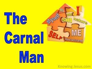 The Carnal Man (devotional) (yellow) - 1 Corinthians 3:3