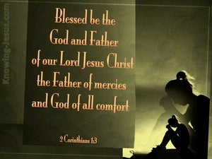 2 Corinthians 1:3 The God Of Comfort green