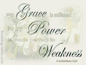 These Five Things (devotional) (sage) - 2 Corinthians 12:9