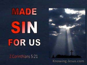 2 Corinthians 5:21 Made Sin For Us (red)