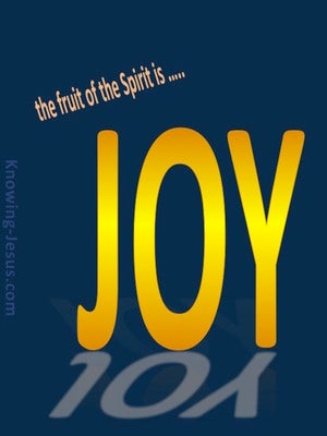 Galatians 5:22 Fruit Of The Spirit Is Joy yellow